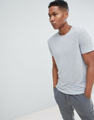 Selected Homme Linen Mix T-Shirt