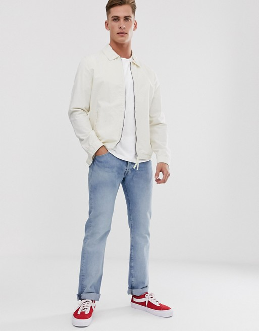 Selected Homme Oversize Fit T Shirt In White by Selected Homme