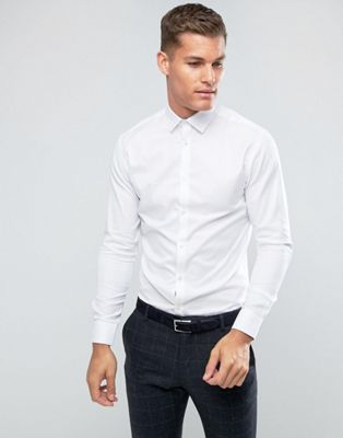 Selected Homme Slim Easy Iron Smart Shirt