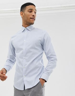 Image 1 of Selected Homme slim fit smart shirt with stretch