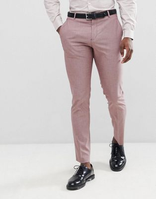 Image 1 of Selected Homme Slim Suit Trouser In Rose