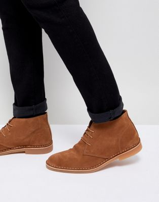 Image 1 of Selected Homme Suede Desert Boots