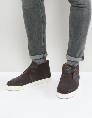 Selected Homme Suede Mid Top Sneakers