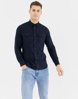 Image 1 of Selected Homme worker overshirt