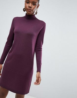 Selected Meroni Roll Neck Wool Sweater Dress
