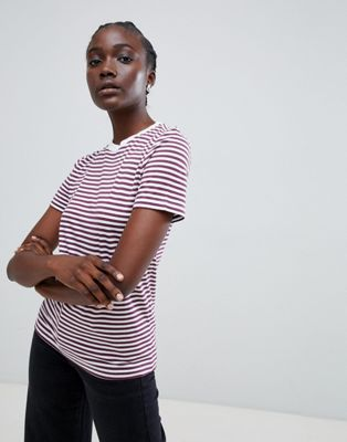Selected - Perfect - T-shirt à rayures