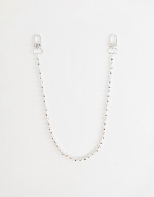 Изображение 1 из Серебристая шариковая цепочка для джинсов Chained & Able