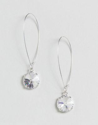 Серьги с кристаллами Swarovski от Krystal London