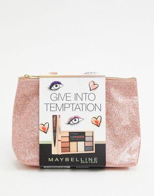 Set de regalo navideño para mujer Give Into Temptation de Maybelline, AHORRA un 11%
