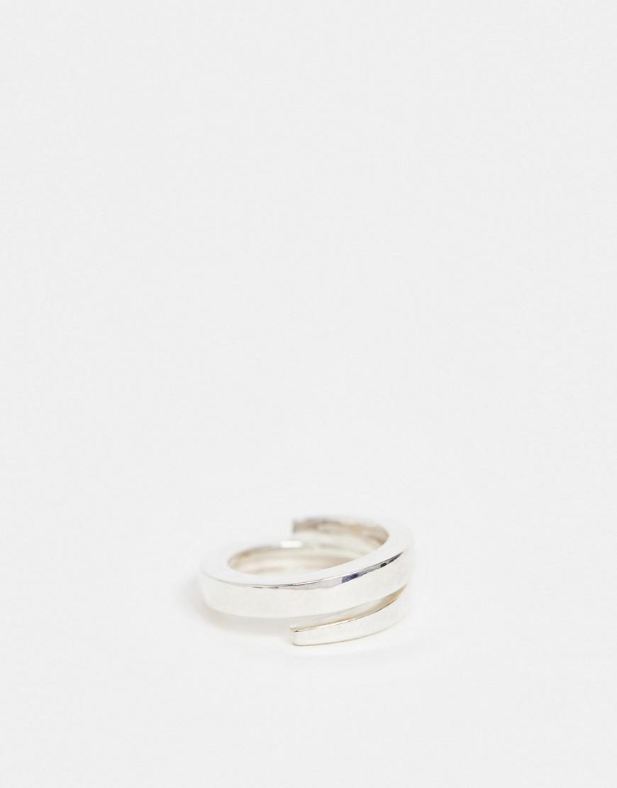 Seven London – Gewickelter Ring Aus Sterlingsilber by Asos