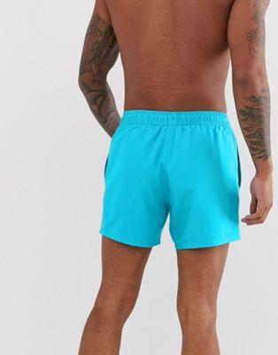 Asos Turquesa Shorts Baño Design De En Cortos mN8nw0