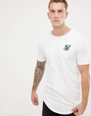 SikSilk Vit kortärmad t-shirt