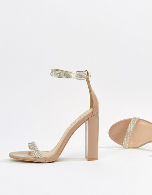 83cf343fc simmi-london-nude-diamante-clear-detail-block-heeled-