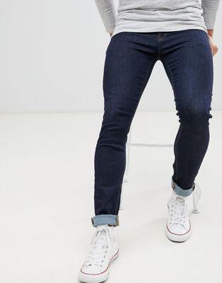 Синие зауженные джинсы ASOS DESIGN