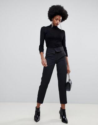 Sisley high waisted tailored pant