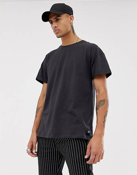 Sixth June oversized t-shirt in black