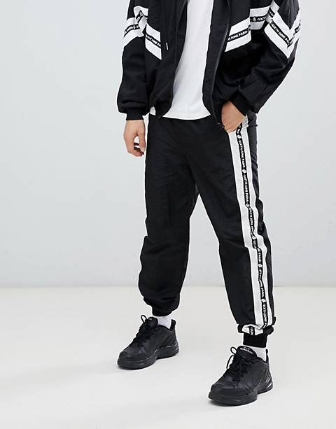 Sixth June shell sweatpants in black