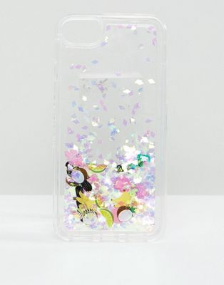 Skinnydip Toucan Glitter iPhone Case 6/7/8/s/6 Plus/7 Plus/iPhoneX