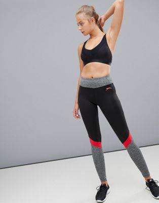 Afbeelding 1 van Slazenger - Legging met panelen