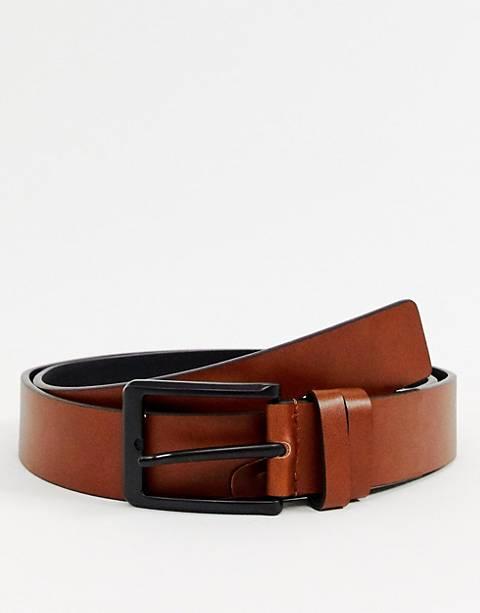 Smith & Canova leather belt in tan