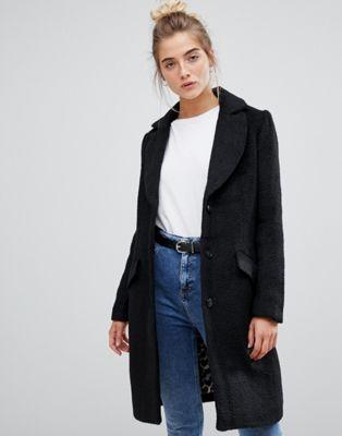 Soaked In Luxury Wool Overcoat