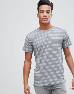 Solid - T-shirt con righe geometriche