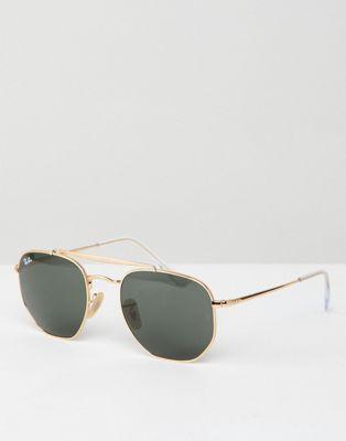 Солнцезащитные очки-авиаторы Ray-Ban 0RB3648
