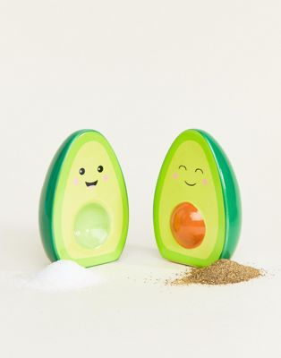 Солонка и перечница c дизайном авокадо Sass & Belle