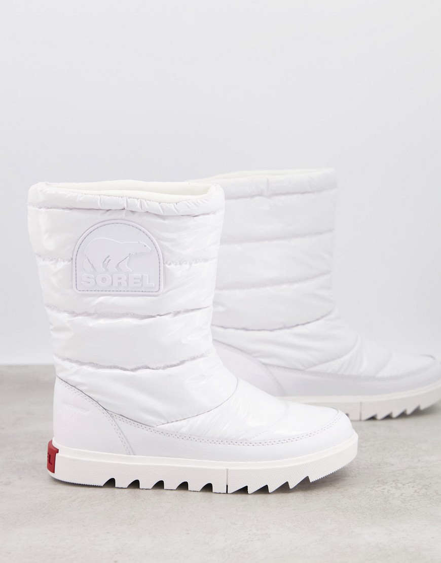 Sorel JOAN OF ARCTIC NEXT LITE BOOTS IN WHITE