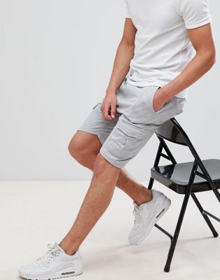 Soul Star jersey cargo shorts