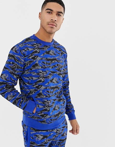 Soul Star – Kombiteil – Bedrucktes Sweatshirt mit Rundhalsausschnitt