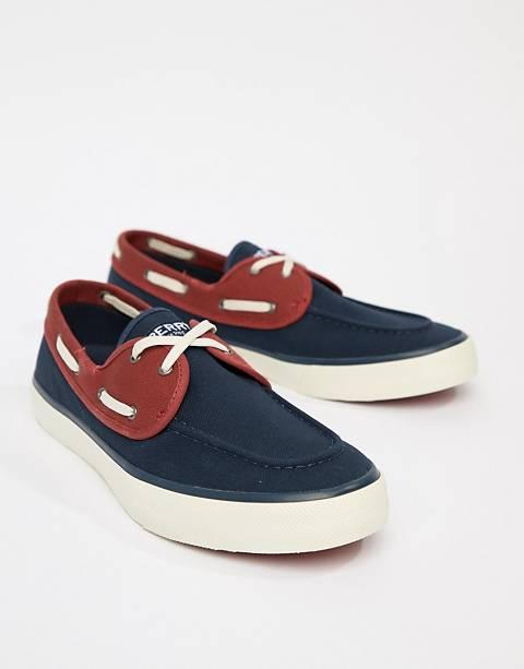 Sperry - Topsider Sneaker - Chaussures bateau - Bleu marine
