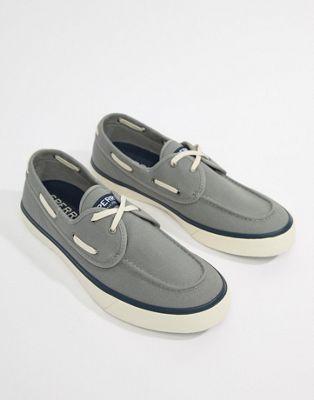 Sperry - Topsider - Sneakers in bootschoenmodel in grijs