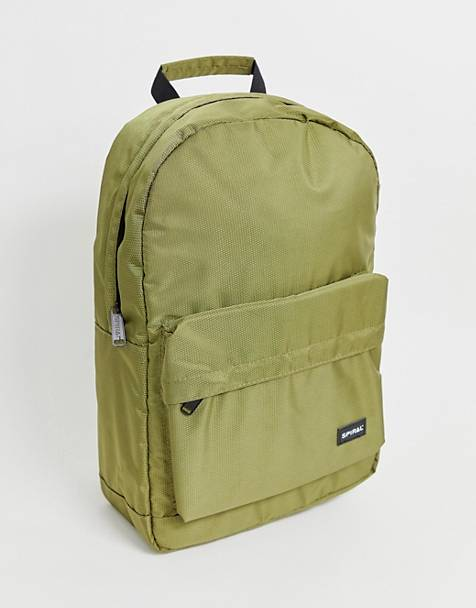 Spiral Core backpack in khaki