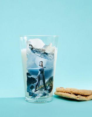 Star Wars – The Last Jedi – Mit Figur bedrucktes Glas