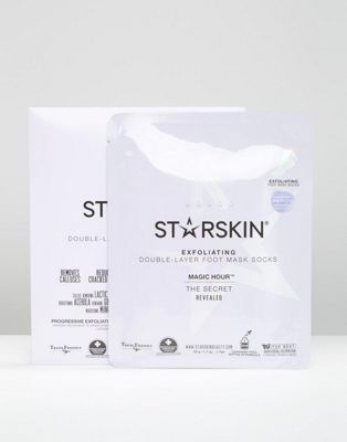 Starskin Magic Hour Exfoliating Double Layer Technology Foot Masks