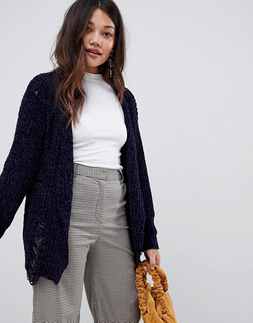 Stella Morgan Cardigan in Chenille