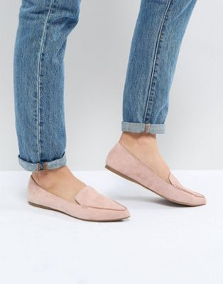 Steve Madden Feather Rose - Suède platte schoenen