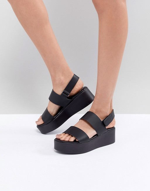 cheap sale detailed look new cheap Steve Madden Rachel Flatform Sandals | ASOS