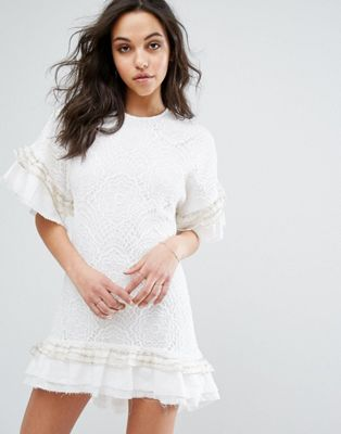 Stevie May Huxley Lace T-Shirt Dress