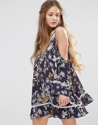 Stevie May Wanderer Cold Shoulder Dress