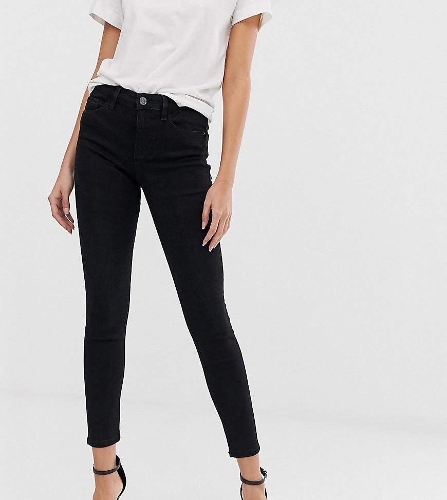stradivarius Skinny jeans met lage taille in zwart