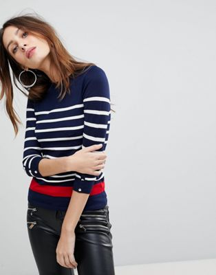 Stradivarius Stripe Light Weight Knit