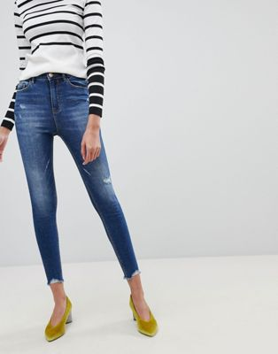 Stradivarius Super High Waist Skinny Jeans