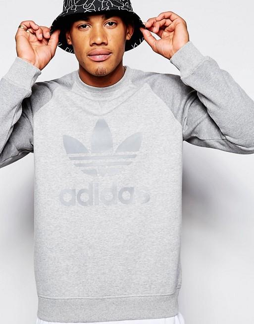 Imagen 1 de Sudadera con trifolio AB7597 de Adidas Originals