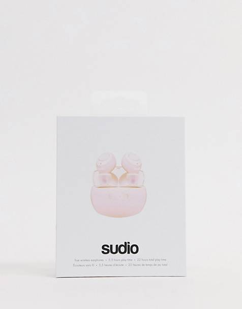 Sudio - Tolv R - Auricolari wireless rosa