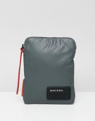 Сумка для авиапутешествий с логотипом-нашивкой Diesel
