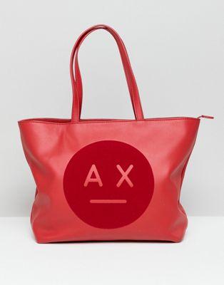 Сумка-тоут с логотипом Armani Exchange