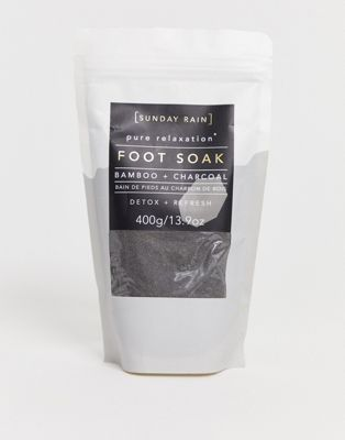 Image 1 of Sunday Rain Foot Soak Charcoal