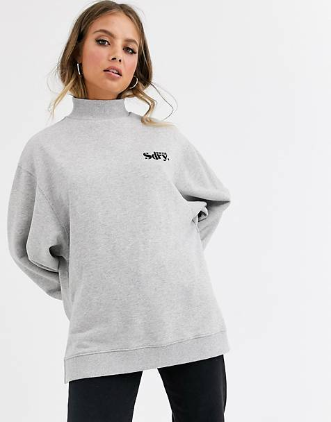 Superdry Ana high neck sweatshirt